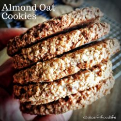 Almond Oat Cookies – 6 Cookies (Available For Sunday Orders Only)