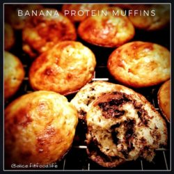 Banana Protein Mini Muffins – 12 Muffins (Available For Sunday Orders Only)