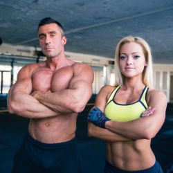 Meals geared towards individuals who are looking to gain muscle.